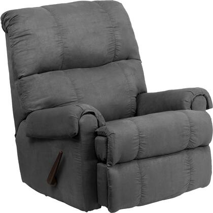 Flash Furniture WM8700113GG WM-8700 Series Contemporary Microfiber Wood Frame Rocking Recliners