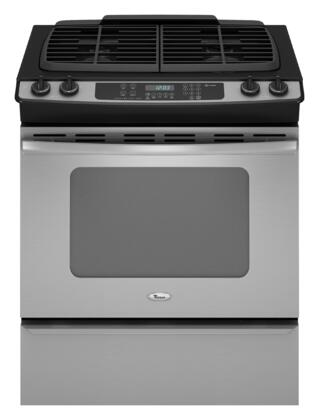 Whirlpool GW397LXUS Gold Series Slide-in Gas Range with Sealed Burner Cooktop Storage 4.5 cu. ft. Primary Oven Capacity |Appliances Connection
